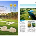 golf materiał