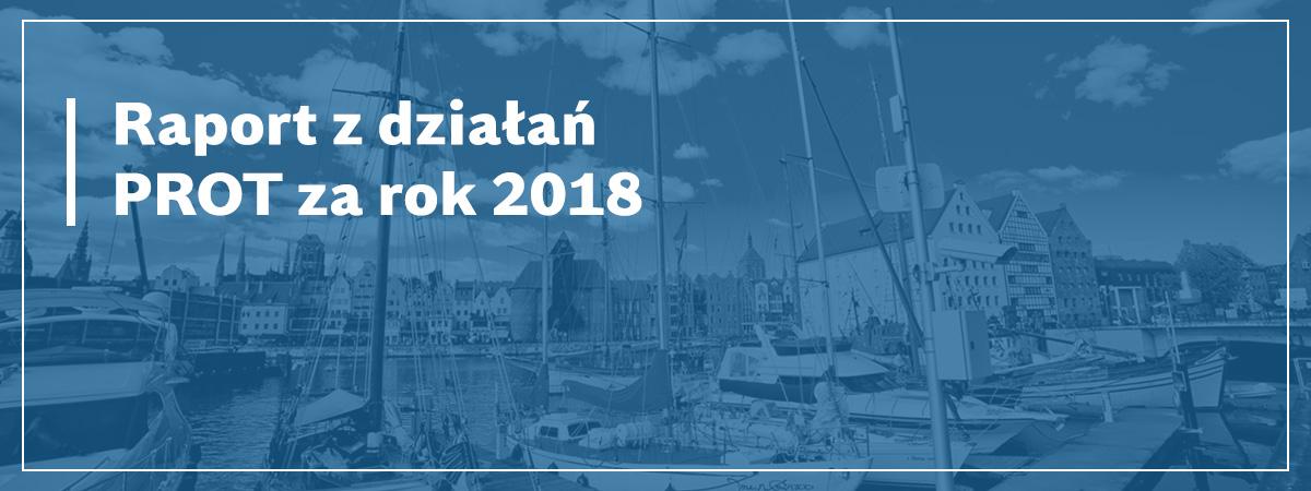 raport z dzialan prot 2018