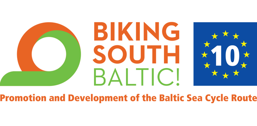 biking south baltic